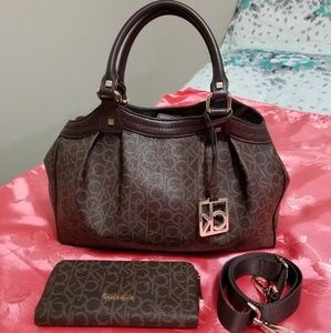 Calvin Klein Bags - Calvin Klein Satchel & Wallet